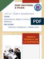 Marco Jurid y Teoric Empresa