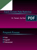 Dr Fanani Aspek Geriatri Pada Radiologi