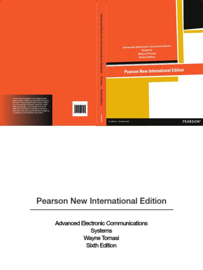 283480413 International Edition Wayne Tomasi Advanced Electronic Communications Systems Pearson 2013 1pdf Optical Fiber