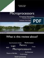 Basic Micro Processors