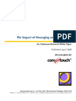 The Impact of Messaging and Web Threats