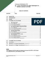 33kv Ct Calculations