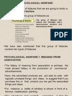 Fallacies Psychological Warfare1