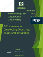 E-Commerce in Developing Countries