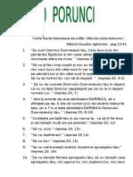 Cele 10 Porunci