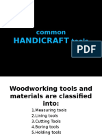 COMMON Hadicraft Tools
