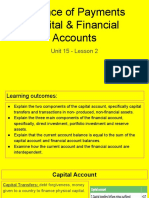 unit 15 - lesson 2 - balance of payment capital   financial account
