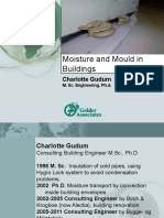 Moisture and Mould in Buildings