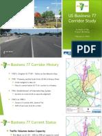 US Business 77 Corridor Study