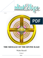 The Message of the Divine Iliad-Vol.1 1