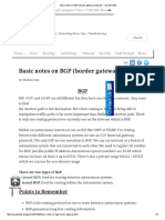 Basic Notes on BGP (Border Gateway Protocol) _ Sysnet Notes