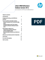 HP Client Virtualization SMB Reference Architecture for Windows Server 2012
