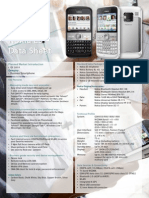 Nokia E5 Data Sheet