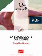 la sociologie du corps (David le Breton)