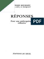 Pour une Anthropologie Reflexive