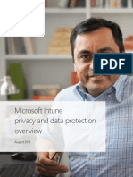 Intune Privacy and Data Protection Overview