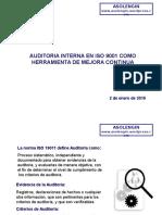 Auditoria Interna en Iso 9001 Como Herramienta de Mejora Continua