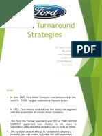 Ford's Turnaround Strategies