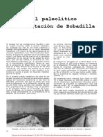 El Paleolitico en La Estacion de Bobadilla