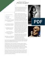 Neandertales Tenemos Sus Genes¿