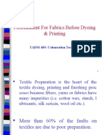 Pretreatment for Dyeing and Printing of Textiles
