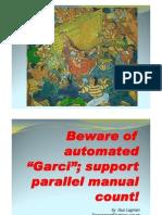 Parallel Manual Count - Gus Lagman