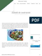 Salată de Castravete — Adi Hădean