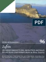 Percebes y Bellotas de Mar de El Yacimiento Neolitico de El Zafrin