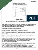 Jenny Study Desk SECMS0715