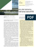 Il governo integrato del sistema trasporti-territorio nell'area vasta MTB Metropoli Terra di Bari