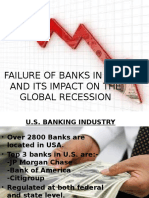 Failure of Banks in Usa