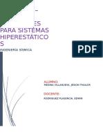 Álgebra Matricial y Métodos Matriciales Para Sistemas Hiperestáticos