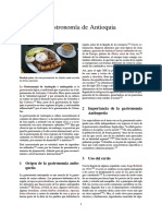 Gastronomía de Antioquia