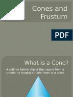 cones and frustum slides