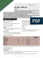 Gpcdoc Gtds Shell Advance 4t Ax7 10w-40 (Sm Ma2) (en) Tds