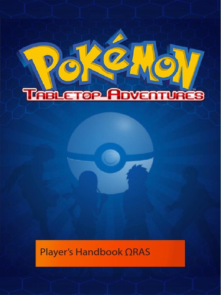 Pokemon Tta Players Handbook Pokémon Physical Exercise