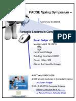 PACSE Spring 04 Symposium