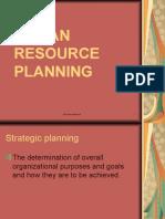 Planning HRm