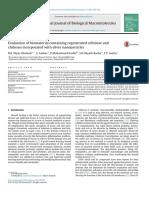 Evaluation of biomaterials containing cellulose