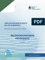 Analisis Microbiologico de Los Alimentos Vol II