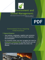 -Session 6a - The Environment and Global Mangement