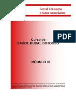 Saúde Bucal Idoso III Módulo III