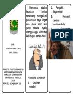 16. Leaflet 1 Demensia
