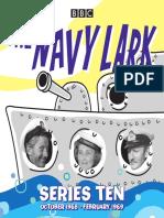 Navy Lark Series 10 Booklet