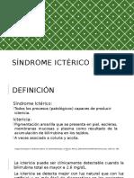 SINDROME-ICTÉRICO