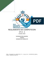 1 REGLAMENTO de COMPETICION Informacion General-Jurado-Normas de Conducta