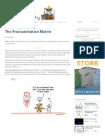 The Procrastination Matrix _ Wait but Why (Part-3)