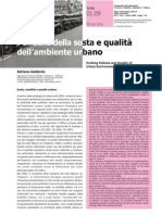 Politiche della sosta e qualità dell'ambiente urbano