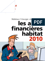 Guide des  Aides Financieres Habitat 2010