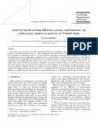 Activity-based costing di?fusion across organizations an exploratory empirical analysis of
